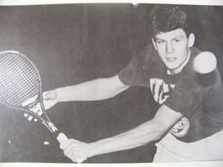Carl Christopher Angell, 39, was the top-ranked tennis player in Maine. Angell suffered from paranoid schizophrenia and took his own life last week.