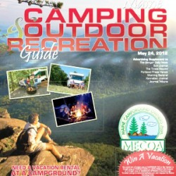 The Maine Camping and Outdoor Recreation Guide, featuring member campgrounds of MECOA (the Maine Campground Owners Association), Maine RV dealers, and more.