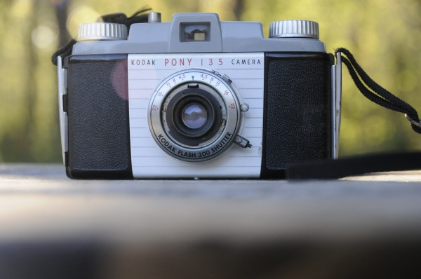 Duncan Bailey of Brooksville recently acquired this vintage Kodak Pony 135 camera.