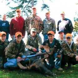 Three generations of the Humphrey family, tied by matriarch Maryella Rawnsley, 74, are bound by family traditions of hunting and fishing together.