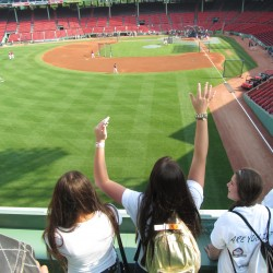 Maine teen volunteers get major league treatment at Fenway Park
