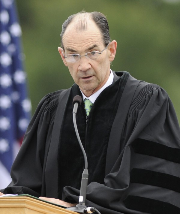 Former U.S. Ambassador Patrick Duddy was the featured speaker at the 113th Commencement of Husson University in Bangor, Maine on Saturday, May 5, 2012.