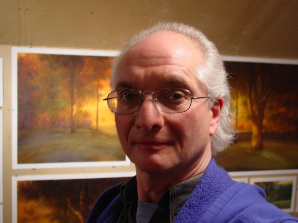 Landscape painter Michael Lewis, University of Maine art professor in Orono, is the recipient of the 2012 Vincent A. Hartgen Award, an award given each year in recognition of outstanding contributions to the advancement of the arts at the university.