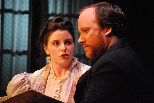 Marie Merrifield and Jason Bannister perform in Mid Coast Actor's Studio's production of Henrik Ibsen's &quotHedda Gabler.&quot