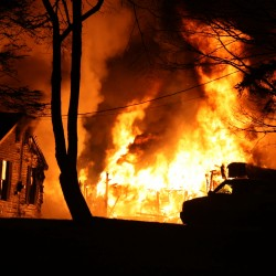 Fire destroys Vinalhaven home, dog lost