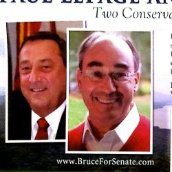 Almost half Poliquin's Senate campaign funds out of pocket