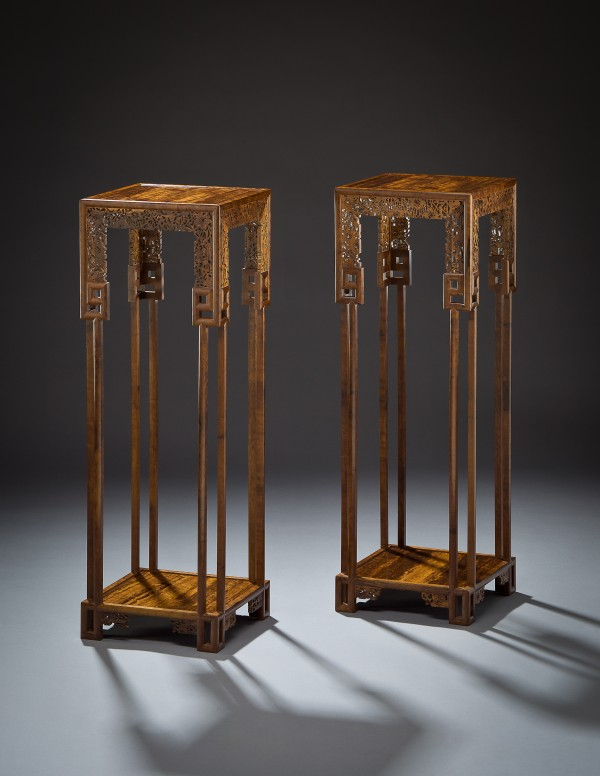 &quotStella Tables&quot by Brian Reid of Rockland is on display through June 30 at the Society of Arts & Crafts gallery at 175 Newbury St. in Boston in an exhibition for the society's three 2012 Artist Award winners.