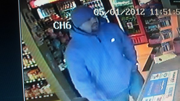 Bangor police are looking for the man pictured in this image, taken at 11:51 a.m. May 1, 2012, inside Court Street Market.