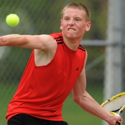 Bangor High boys sporting new look in tennis this spring