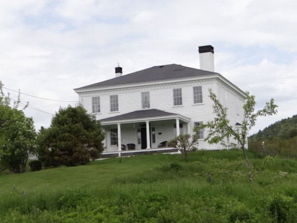 The house built by George Ulmer overlooking Ducktrap Harbor in Lincolnville still stands.