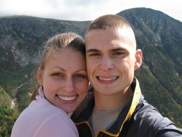 U.S. Army Capt. John &quotJay&quot R. Brainard III with his wife, Emily, in Baxter State Park in 2009. Capt. Brainard, an Army helicopter pilot from Newport, was killed Monday, May 28, in Afghanistan.