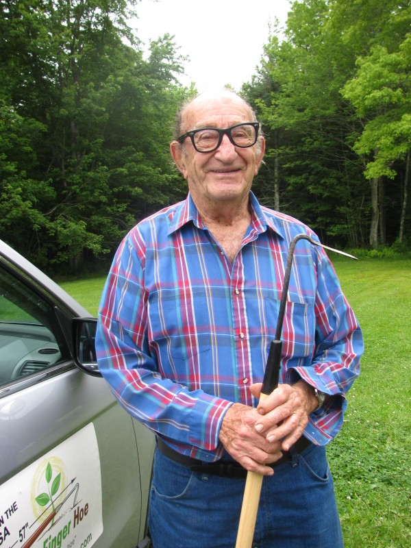 Bob Perdrizet, 91, made a solo trip to Alaska in May in his Honda CR-V.