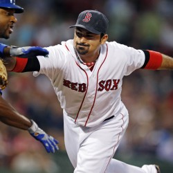 Red Sox roll behind two Gonzalez home runs