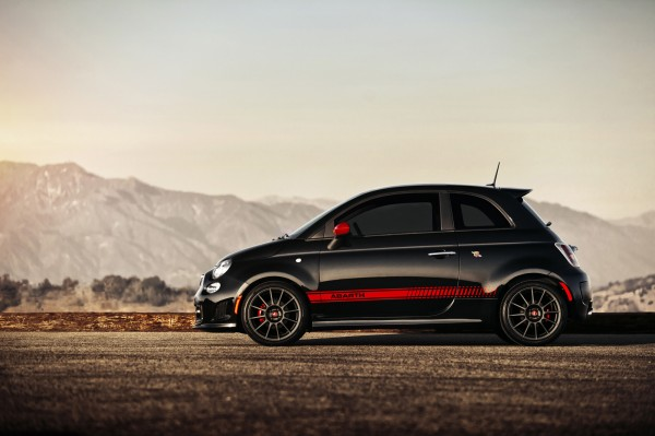 The two-door $22,000 Fiat 500 Abarth hatchback makes a great city car.