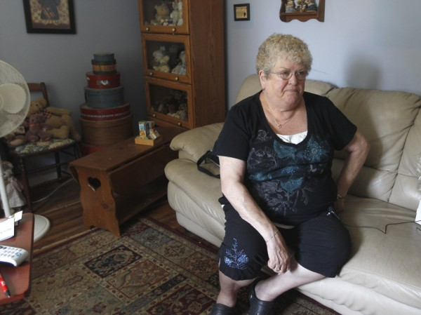 Karen Klein, 68, of Greece, N.Y., talks about the verbal abuse she endured from Greece middle school students while she was school bus monitor.