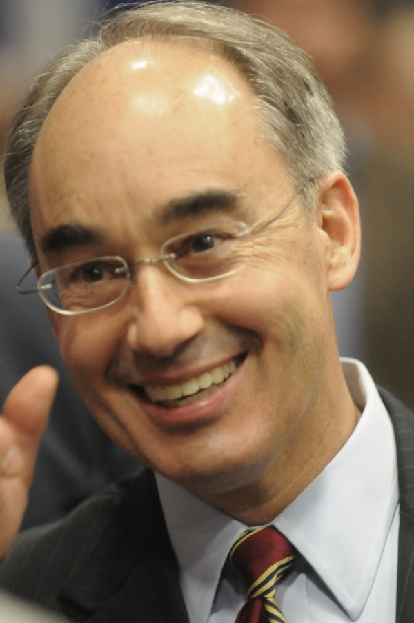 Maine State Treasurer and Republican U.S. Senate candidate Bruce Poliquin