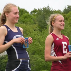 Brown leads Waterville girls to third straight 'B' state title; Foxcroft's Boyer a triple winner