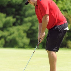 With chores completed, Gay opens defense of Maine Amateur Golf title