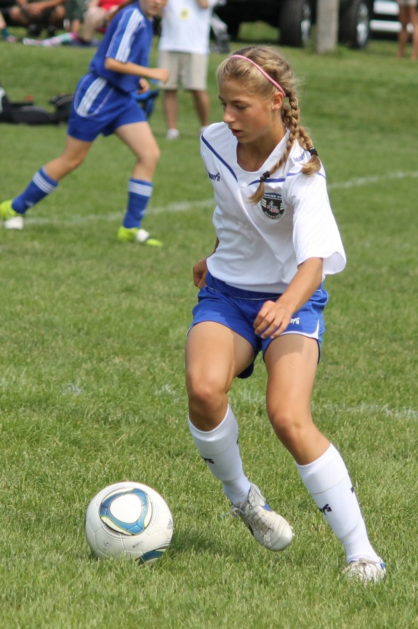 Opal Curless of Mount Desert, Maine, is one of 48 girls in the U.S. who was selected to participate in the U.S. Youth Soccer Association's Under-14 girls national training camp May 27-June 3 in Carson, Calif.