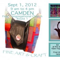 Designing Women Camden Show Postcard