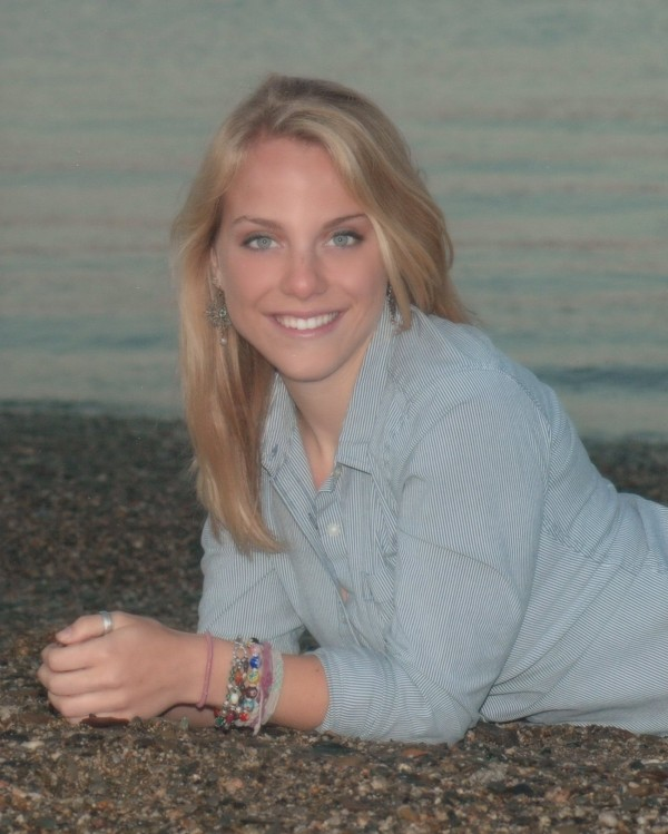 Casie Frederick, valedictorian for Hermon High School, Class of 2012