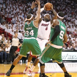 Boston ailing, Heat soaring in East semifinals