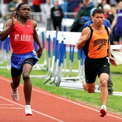 Scarborough sweeps Class A state championship track meet