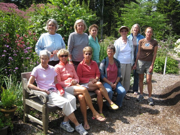 The Garden Committee of Georges River Land Trust visits Mary Ann Carey's garden in Spruce Head which will be featured on the Gardens in the Watershed tour, Sunday, July 15, 10 am – 5 pm. Call  594-5166 or visit www.grlt.org for more information.