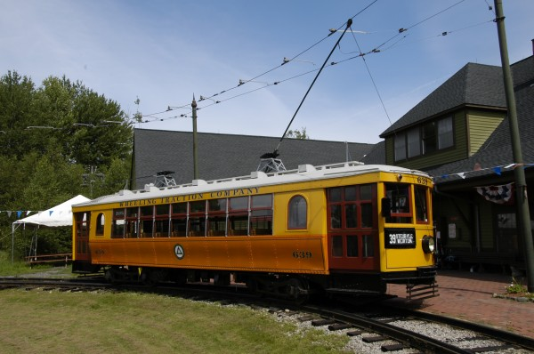 Car 639 was built in 1924, and is one of many restored streetcars in STM's collection.
