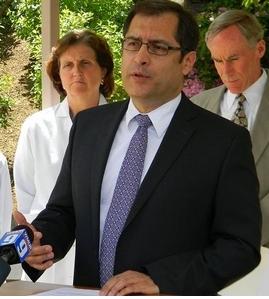 Dr. Jose Montero, New Hampshire public health director.