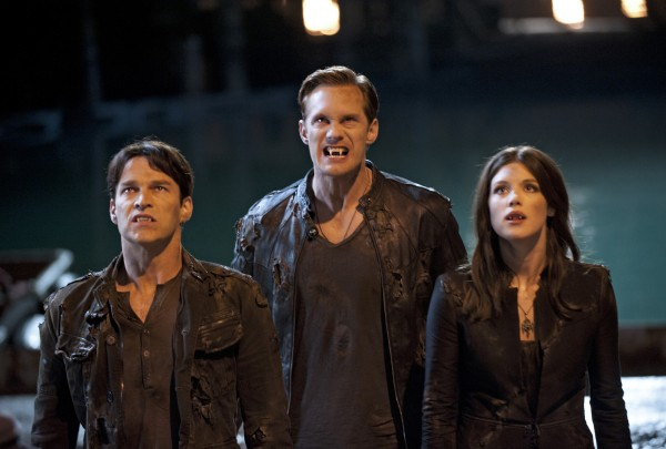Stephen Moyer, Alexander Skarsgard and Lucy Griffiths star in &quotTrue Blood&quot which is kicking off its fifth season on HBO.