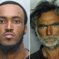 Naked man who tried to rip the flesh off another man in Miami identified
