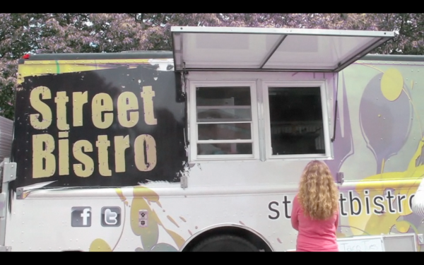Kim Smith runs Street Bistro, a food truck in the greater Bangor area.