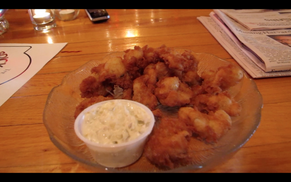 The Brickhouse in Searsport serves Perry's Restaurant fried clams, a secret recipe passed down through generations.