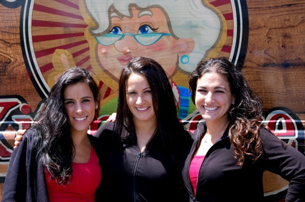 The Jersey girls trio, one of two final teams in the Food Network's &quotThe Great Food Truck Race&quot television show, expect to be in Lubec on Tuesday, June 19, cranking out authentic Italian fare from Nonna's Kitchenette. The team members are (from left) Jessica Stambach, Lisa Nativo and Jaclyn Kolsby.