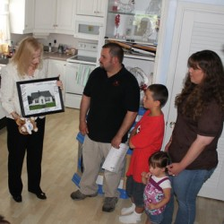 Winslow family praises Rural Development's program to help with home ownership