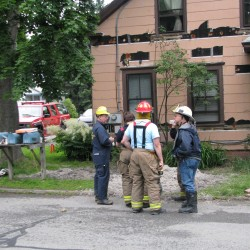 Fire at Stucco Lodge displaces 18 people