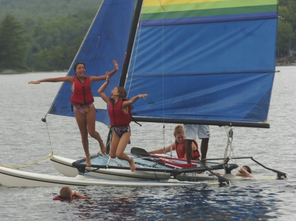 Summer fun is just around the corner. What's your camp tradition? BDN file photo by Kate Collins.
