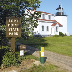Two state parks preserve Down East coastal beauty