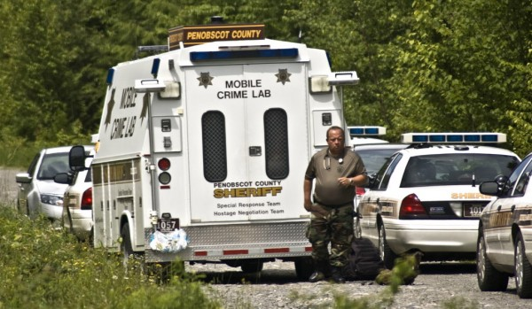 An assault in Orono has led police to LaGrange, where a man has barricaded himself inside a home on Brimstone Road, Penobscot County Sheriff Glenn Ross said Thursday afternoon, June 28, 2012.