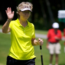 Juniors playing with LPGA Legends makes good mix