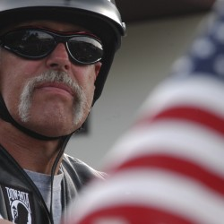 Motorcycle ride fundraiser aids veteran's family