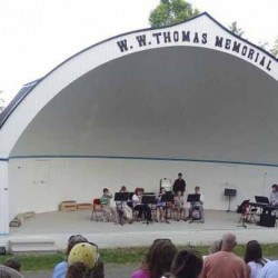 Additional funds needed for repairs to historic Music Bowl in New Sweden