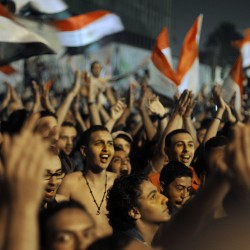 Tahrir Square simmers in protest, this time over Egypt's election results