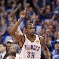 Durant, Thunder beat Griz to reach West finals