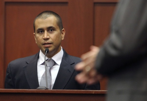 In this April 20, 2012 file photo, George Zimmerman, left, answers a question from attorney Mark O'Mara during a bond hearing in Sanford, Fla.