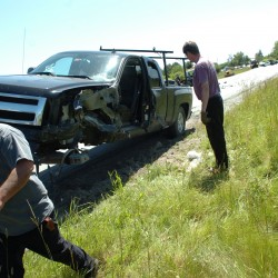 Two Sandy Point residents hurt in car-SUV crash