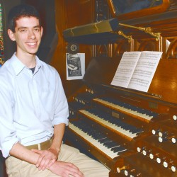 German organist Matthias Schmelmer will give concerts at three Maine churches.