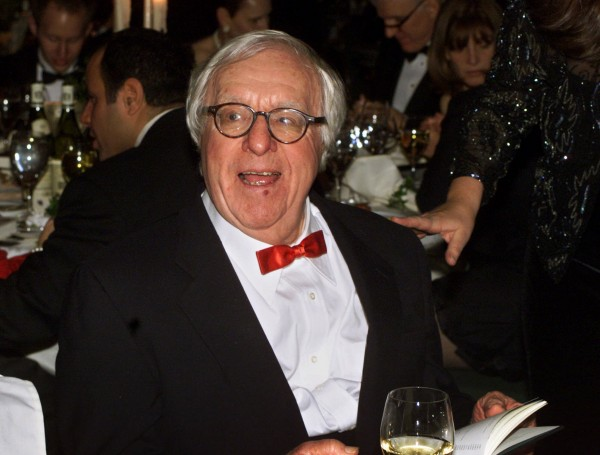 Ray Bradbury appears at the National Book Awards in New York in 2000 where he was given the Medal for Distinguished Contribution to American Letters.