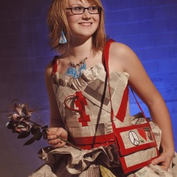 Duct tape prom dress could win Kansas teen $5,000